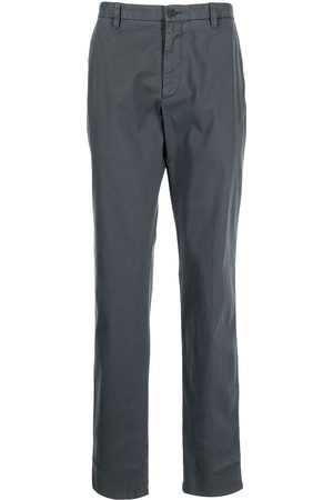 Armani High-waisted straight-leg trousers - Grey