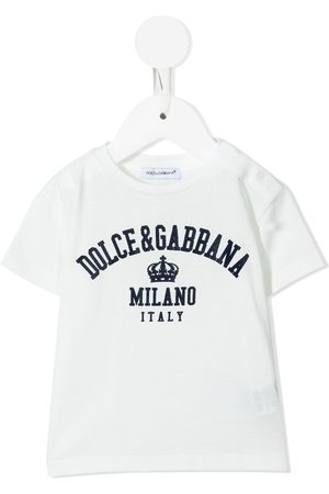 Dolce & Gabbana T-shirts - Logo-print cotton T-shirt