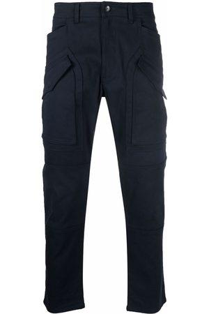 Etro Men Straight Leg Pants - Mid-rise straight-leg trousers