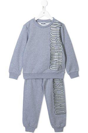Moschino Logo-print tracksuit set - Grey