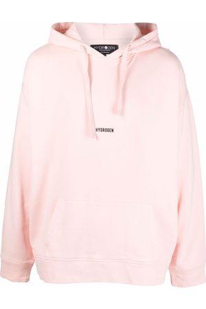 Hydrogen Men Hoodies - Logo-print cotton hoodie