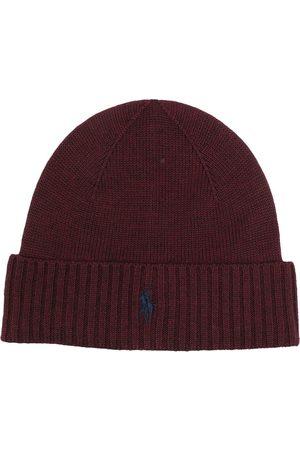 Polo Ralph Lauren Men Beanies - Embroidered-logo wool beanie hat