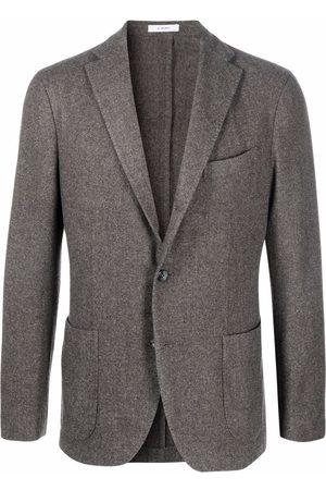 Boglioli Single-breasted fitted blazer - Grey