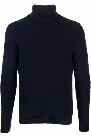 ZANONE Men Turtlenecks - Roll-neck cable-knit jumper