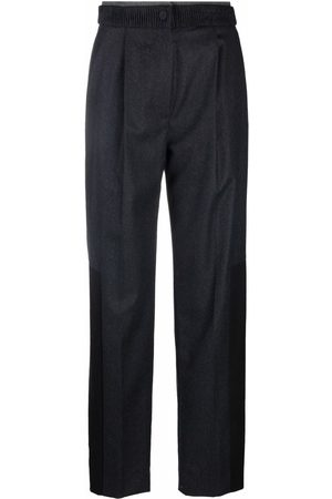 PORTS 1961 Tailored wool trousers - Grey
