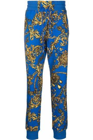 VERSACE Men Sweatpants - Barocco print track trousers