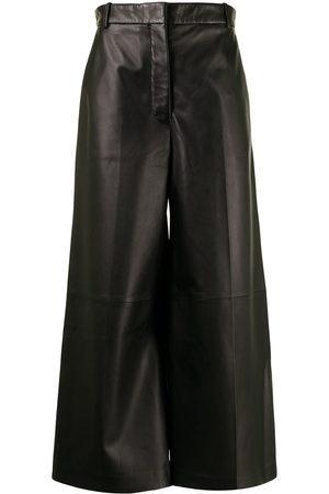 Joseph Women Wide Leg Pants - Cropped wide-leg trousers