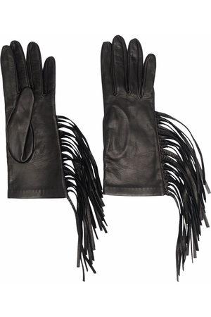 Manokhi Women Gloves - Fringe leather gloves