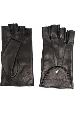 Manokhi Fingerless button gloves