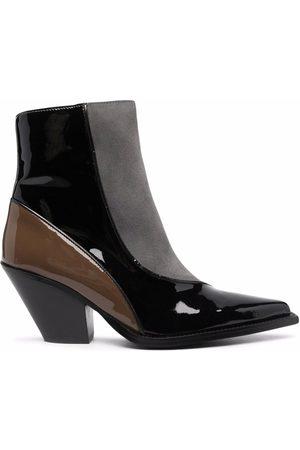 Paul Warmer Toral colour-block western boots