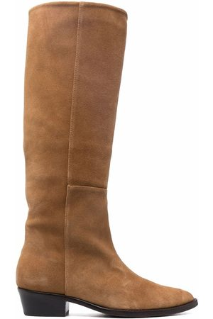 Paul Warmer Toral western suede boots