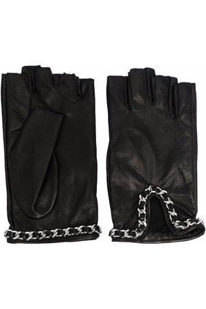 Manokhi Chain-link detail driving gloves