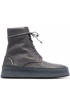 MARSÈLL Cassapana lace-up boots - Grey