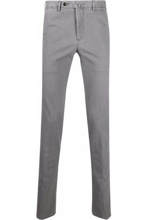 PT01 Straight-leg tailored trousers - Grey