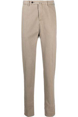 PT01 Men Formal Pants - Slim-fit tailored trousers - Neutrals