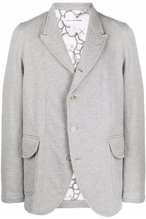 Comme des Garçons Peak-lapel single-breasted blazer - Grey