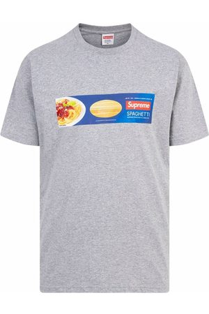 Supreme Short Sleeve - Spaghetti short-sleeve T-shirt - Grey