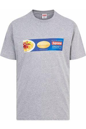 Supreme Spaghetti short-sleeve T-shirt - Grey