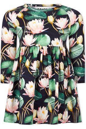Molo Kids Baby Printed Dresses - Floral-print organic cotton dress