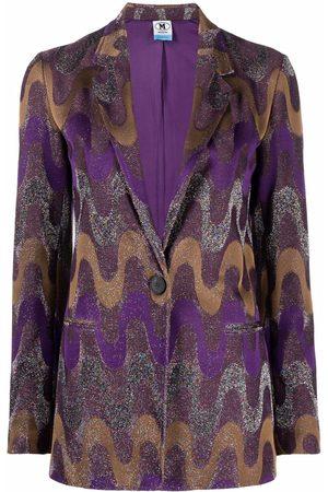 M Missoni Women Blazers - Single-button blazer