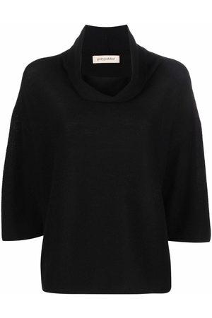 GENTRYPORTOFINO Three quarter-sleeved cashmere jumper