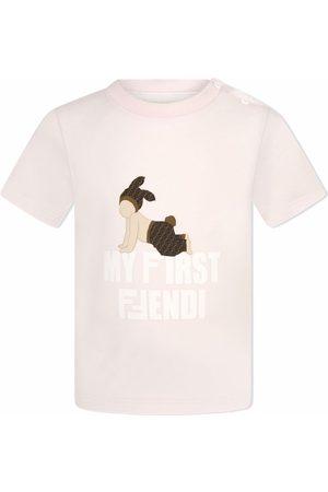 Fendi My First Fendi graphic-print T-shirt