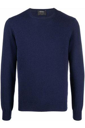 DELL'OGLIO Men Sweatshirts - Crew-neck cashmere jumper