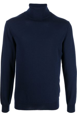 MAN ON THE BOON. Rollneck knitted sweater