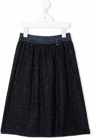 Molo Glitter pleated skirt