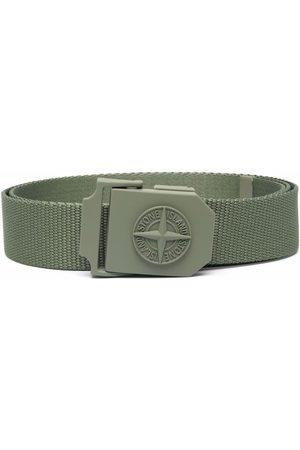 Stone Island Compass motif buckle belt