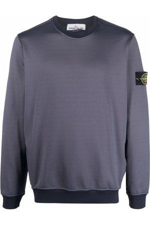 Stone Island Compass patch two-tone sweatshirt