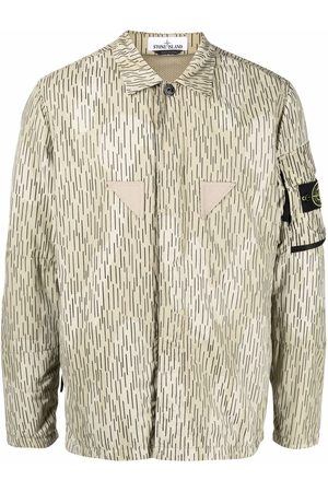 Stone Island Rain Camo print overshirt - Neutrals