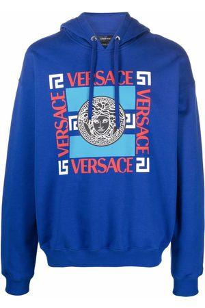 VERSACE Medusa motif-print hoodie