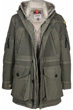 Parajumpers Reversible padded parka coat - Grey