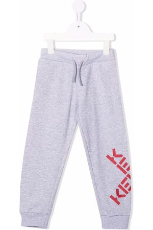 Kenzo Logo-print track pants - Grey