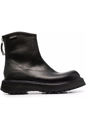 Premiata Rear-zip ankle boots