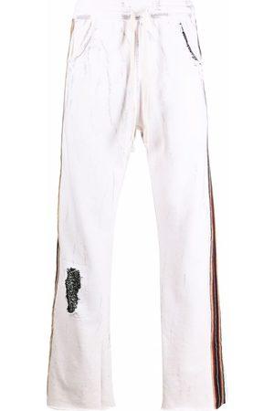 Alchemist Men Sports Pants - Distressed tracksuit bottoms