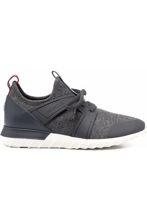 Moncler Panelled low-top sneakers - Grey