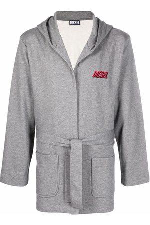 Diesel Tied-waist hoodie - Grey