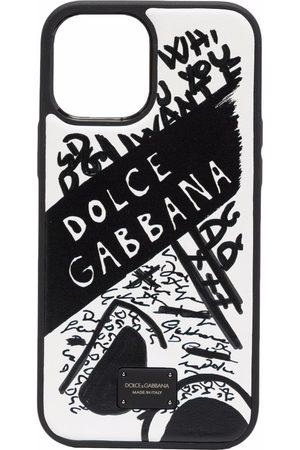 Dolce & Gabbana Scribbled logo iPhone 12 Pro Max phone case