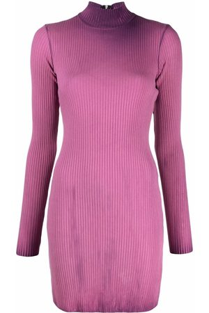 Cotton Citizen Women Dresses - Contrasting dye long-sleeved dress