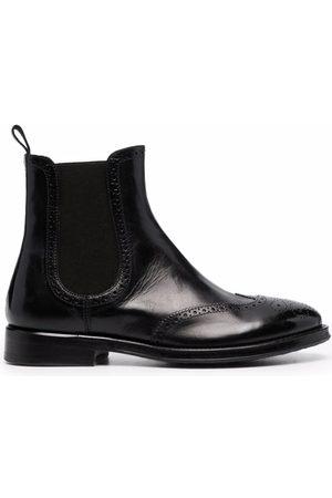 ALBERTO FASCIANI Brogue detailing chelsea boots