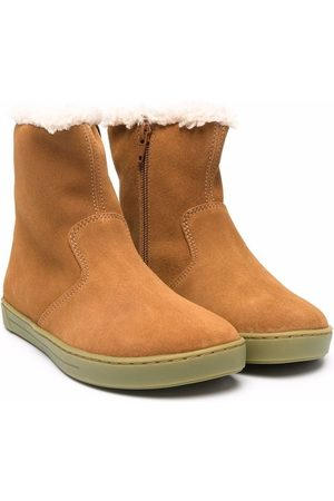 Birkenstock Lille shearling-lined boots - Neutrals