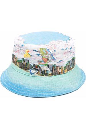 Casablanca Dans Les Nuages bucket hat