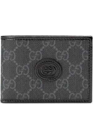 Gucci Men Wallets - GG-canvas bi-fold wallet