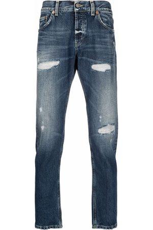 Dondup Men Straight - Low-rise straight-leg jeans