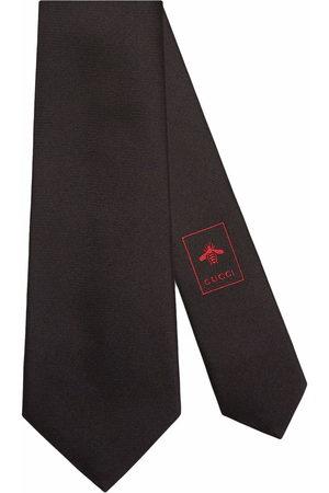 Gucci Men Bow Ties - Interlocking G silk jacquard tie
