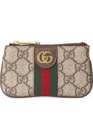 Gucci Women Wallets - GG-canvas logo-plaque purse