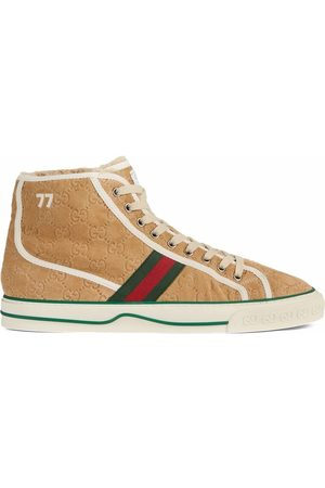 Gucci Men Sneakers - Tennis 1977 lace-up sneakers - Neutrals