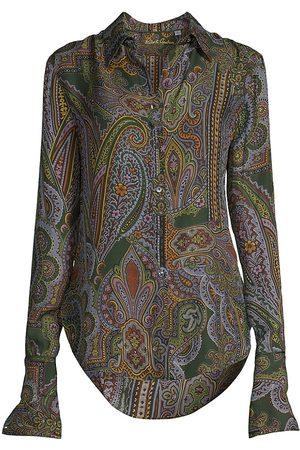 Robert Graham Women Shirts - Ophelia Silk-Blend Shirt